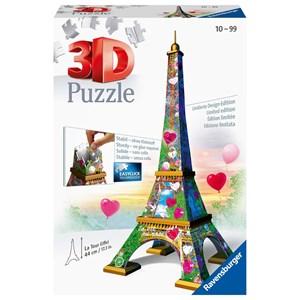 """Ravensburger (11183) - """"Eiffel Tower"""" - 216 pièces"""