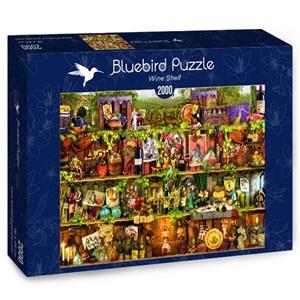 """Bluebird Puzzle (70142) - Aimee Stewart: """"Wine Shelf"""" - 2000 pièces"""
