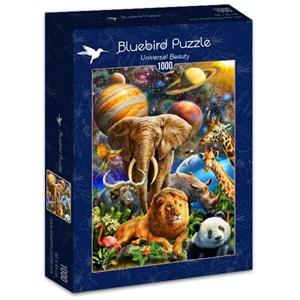 "Bluebird Puzzle (70012) - Adrian Chesterman: ""Universal Beauty"" - 1000 pièces"
