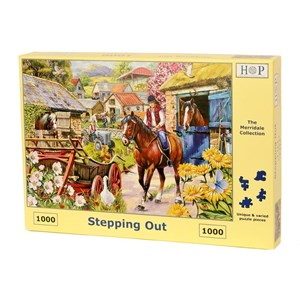 """The House of Puzzles (4715) - """"Stepping Out"""" - 1000 pièces"""