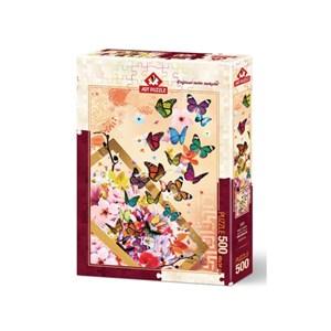 """Art Puzzle (4200) - """"Papillons"""" - 500 pièces"""