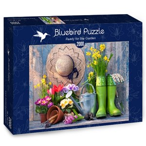 "Bluebird Puzzle (70031) - Alexander Raths: ""Ready for the Garden"" - 2000 pièces"