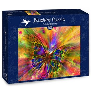 """Bluebird Puzzle (70050) - """"Colorful Butterfly"""" - 1500 pièces"""