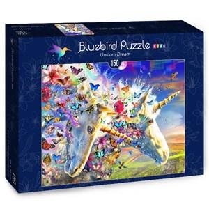"Bluebird Puzzle (70397) - Adrian Chesterman: ""Unicorn Dream"" - 150 pièces"