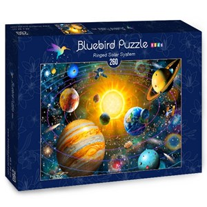 """Bluebird Puzzle (70383) - Adrian Chesterman: """"Ringed Solar System"""" - 260 pièces"""