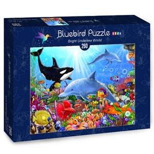 "Bluebird Puzzle (70384) - Gerald Newton: ""Bright Undersea World"" - 260 pièces"