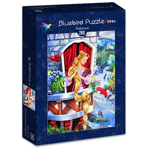 "Bluebird Puzzle (70388) - Jenny Newland: ""Raiponce"" - 260 pièces"