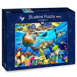"Bluebird Puzzle (70372) - Howard Robinson: ""Turtle Beach"" - 260 pièces"