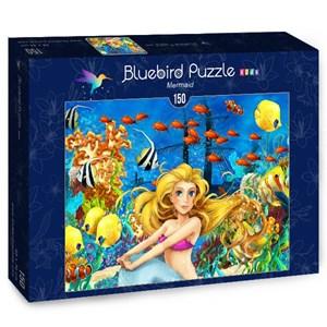 """Bluebird Puzzle (70347) - Maciej Es: """"Mermaid"""" - 150 pièces"""