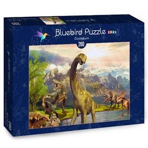 """Bluebird Puzzle (70369) - """"Dinosaurs"""" - 260 pièces"""