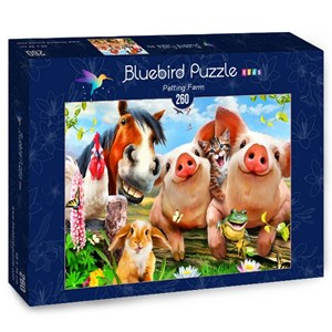"Bluebird Puzzle (70370) - Howard Robinson: ""Petting Farm"" - 260 pièces"