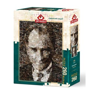 "Art Puzzle (4285) - ""Mustafa Kemal Atatürk"" - 260 pièces"