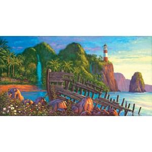 """SunsOut (20131) - Wil Cormier: """"Paradise Cove"""" - 500 pièces"""