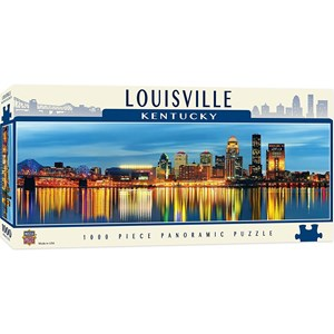 "MasterPieces (71725) - James Blakeway: ""Louisville, Kentucky"" - 1000 pièces"