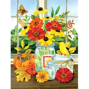 """SunsOut (16099) - Jane Maday: """"Autumn Jars"""" - 300 pièces"""