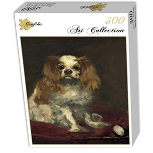 "Grafika (01708) - Edouard Manet: ""A King Charles Spaniel, 1866"" - 300 pièces"