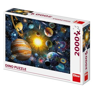 """Art Puzzle (56116) - """"Systme Solaire"""" - 2000 pièces"""