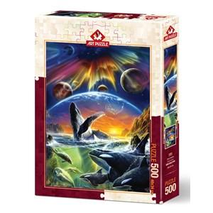 """Art Puzzle (5085) - """"Orka Universe"""" - 500 pièces"""