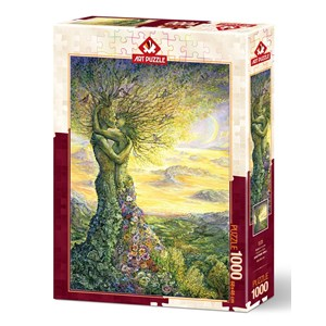 """Art Puzzle (5175) - Josephine Wall: """"Love of Nature"""" - 1000 pièces"""
