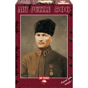 "Art Puzzle (4158) - ""Ghazi Mustafa Kemal Atatürk"" - 500 pièces"