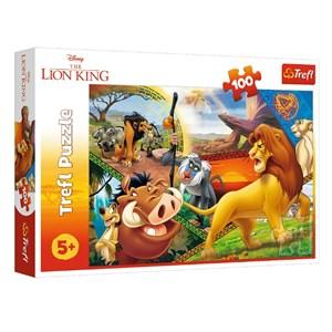"King International (16359) - ""Disney, The Lion King"" - 100 pièces"