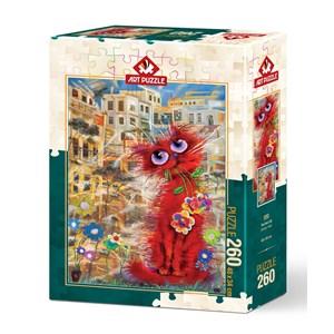 """Art Puzzle (4582) - """"Red Cat"""" - 500 pièces"""