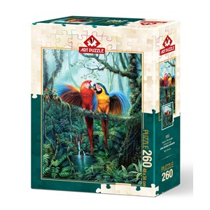 "Art Puzzle (5022) - ""Love in the Forest"" - 260 pièces"