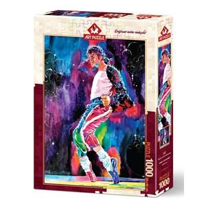 """Art Puzzle (4227) - """"Michael's Jackson Moonwalker"""" - 1000 pièces"""