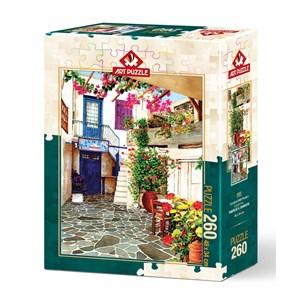 """Art Puzzle (4581) - """"Flower Courtyard"""" - 260 pièces"""