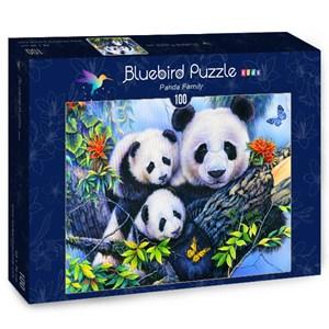 "Bluebird Puzzle (70395) - Jenny Newland: ""Panda Family"" - 100 pièces"