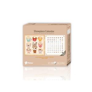 "Pintoo (h1707) - ""Calendar Showpiece, Coffee Time"" - 200 pièces"