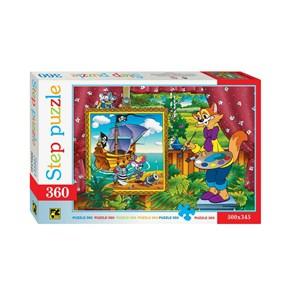 """Step Puzzle (73020) - """"Leopold the Cat"""" - 360 pièces"""