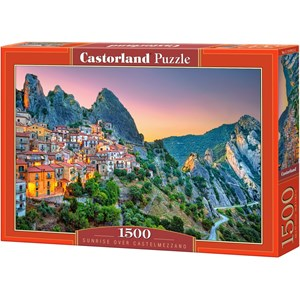 "Castorland (151912) - ""Sunrise over Castelmezzano"" - 1500 pièces"