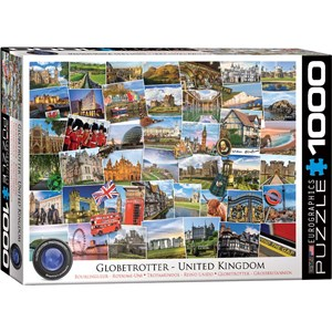 "Eurographics (6000-5464) - ""Royaume Uni"" - 1000 pièces"