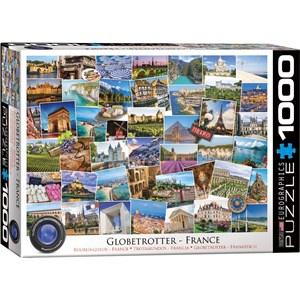 "Eurographics (6000-5466) - ""France"" - 1000 pièces"