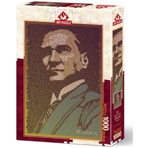 """Art Puzzle (5170) - """"Atatürk et Conference"""" - 1000 pièces"""