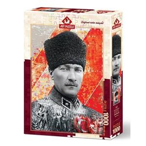 "Art Puzzle (4377) - ""Mustafa Kemal Atatürk"" - 1000 pièces"