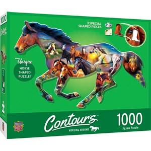 """MasterPieces (72052) - """"Wild Horse"""" - 1000 pièces"""