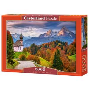 "Castorland (C-200795) - ""Rian Alps, Germany"" - 2000 pièces"