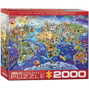 "Eurographics (8220-5343) - ""Crazy World"" - 2000 pièces"
