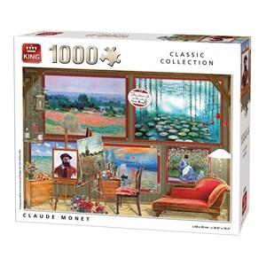 """King International (55864) - """"Claude Monet"""" - 1000 pièces"""