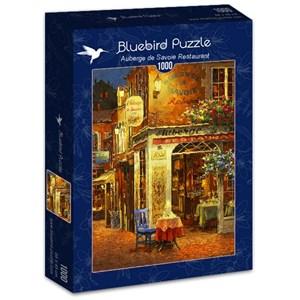 "Bluebird Puzzle (70214) - Viktor Shvaiko: ""Auberge de Savoie Restaurant"" - 1000 pièces"
