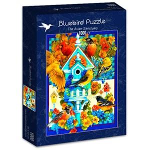 "Bluebird Puzzle (70420) - David Galchutt: ""The Avian Sanctuary"" - 1000 pièces"