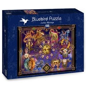 """Bluebird Puzzle (70123) - Ciro Marchetti: """"Zodiac Montage"""" - 1000 pièces"""
