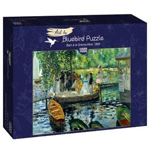 """Bluebird Puzzle (60100) - Pierre-Auguste Renoir: """"La Grenouillère, 1869"""" - 1000 pièces"""