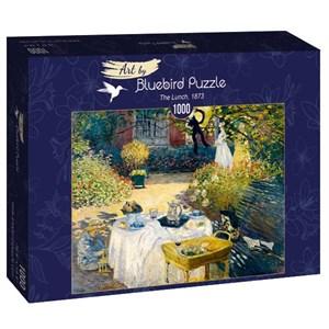 """Bluebird Puzzle (60040) - Claude Monet: """"The Lunch, 1873"""" - 1000 pièces"""