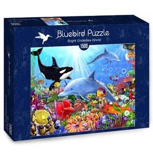 "Bluebird Puzzle (70028) - Gerald Newton: ""Bright Undersea World"" - 1500 pièces"