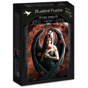 """Bluebird Puzzle (70437) - Anne Stokes: """"Angel Rose"""" - 1000 pièces"""