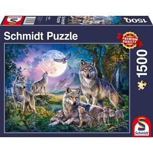 """Schmidt Spiele (58954) - """"Wolves"""" - 1500 pièces"""