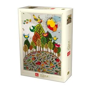 """Deico (76007) - """"Nature Puzzle"""" - 1000 pièces"""
